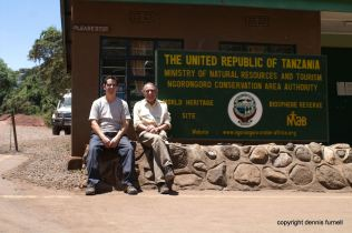 Robin & Dennis Ngorongoro Crater